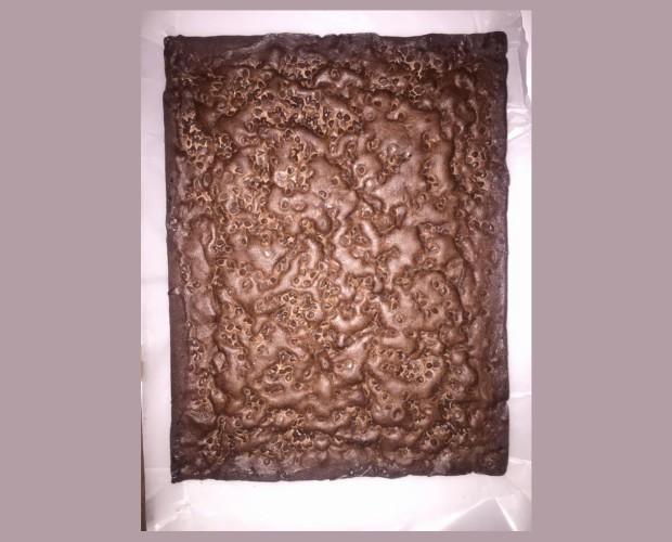 Plancha de chocolate. Variedad de sabores y texturas