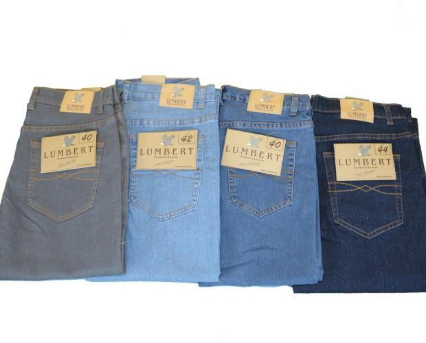 Pantalones vaqueros Lumbert. Pantalón vaquero 5 bolsillos de corte clásico