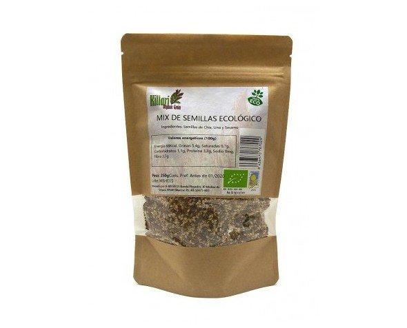 Mix semillas bio. Chia, lino y sésamo