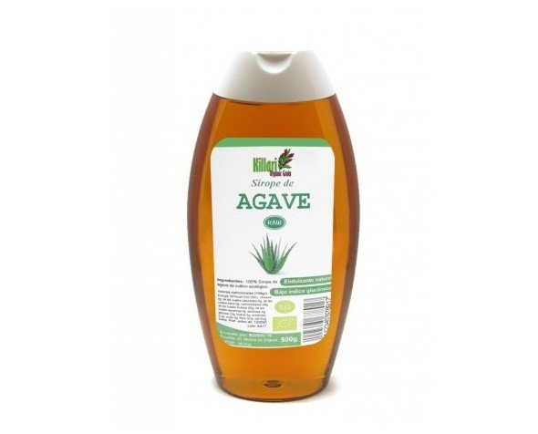 Sirope de agave bio. Aloe vera