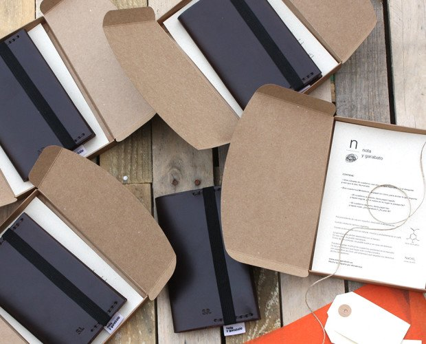 Cuadernos y Blocs de Notas.Empaquetado de las libretas