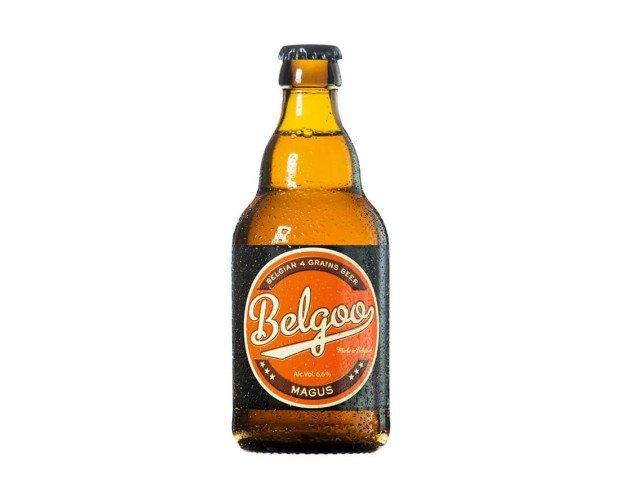 Belgoo Magus. Una cerveza que podría acercarse a una tripel, pero con menos carga alcohólica.