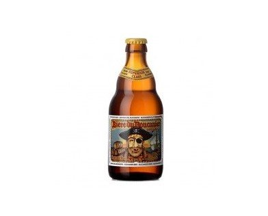Boucanier Golden. Esta cerveza belga rubia golden pale ale, de fermentación alta, se elabora con 3 diferentes lúpulos