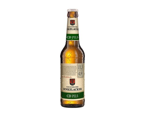 DINKELACKER CD PILS. Cerveza alemana de tipo Pilsener