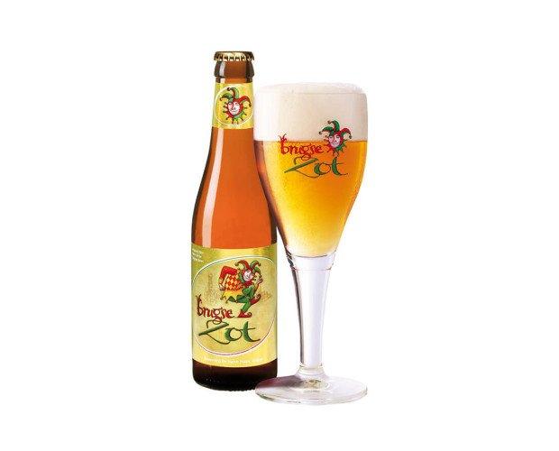 Brugse Zot. Cerveza belga rubia, de estilo Pale Ale