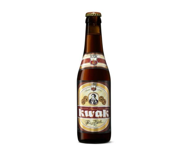 Kwak. Una de las cervezas especiales e históricas de Bélgica