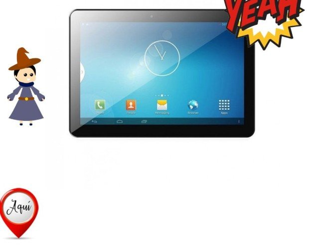 Tablet innjoo time2. Tablet innjoo time2 black - cpu qc - 1gb ram - 16gb - 10.1'/25.65.78cm 1280x800 ips