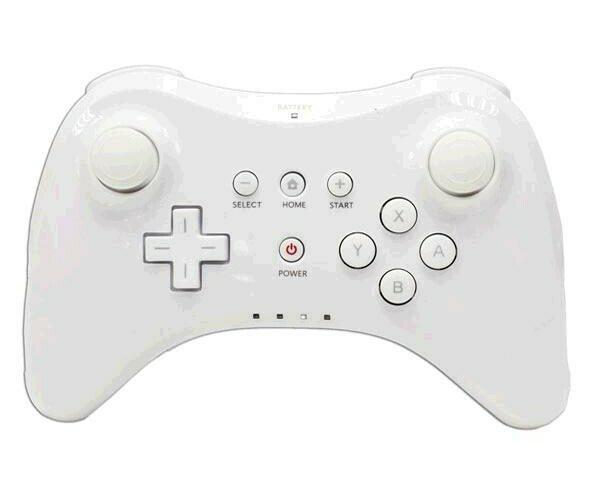 Mando inalámbrico. Puede utilizarse con algunos de los títulos disponibles en Nintendo Wii U.