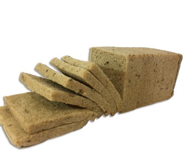 Pan de molde. Integral sin corteza