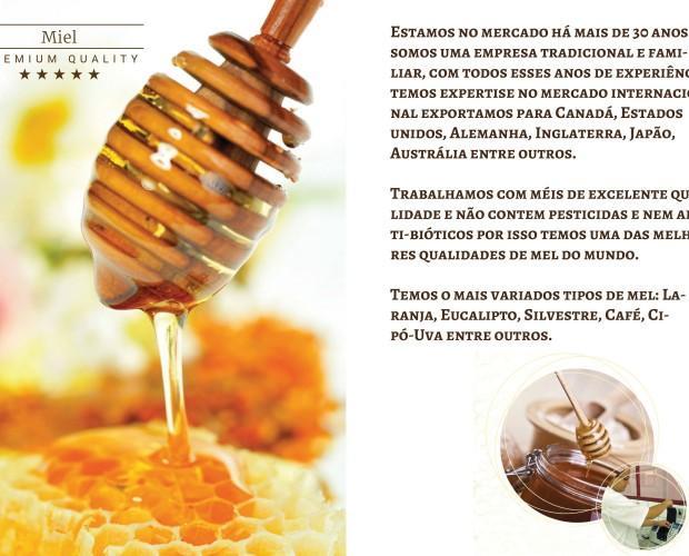 Miel Natural.Nuestra miel es cien por ciento orgánica