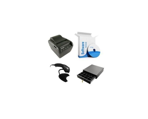 Pack TPV. Impresora, cajón, lector, software
