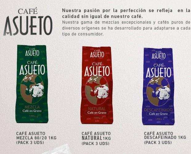 NUEVO CAFÉ. Nuestra gama de café mezcla y descafeinado.