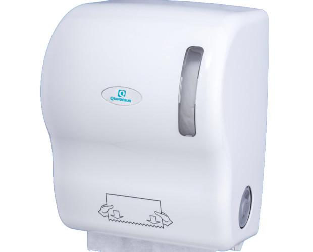 Dispensador Quindesur. Dispensador de papel autocorte