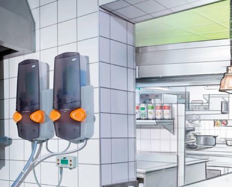 Integral System. Integral System es un exclusivo sistema computarizado de lavado automático para lavavajillas industriales