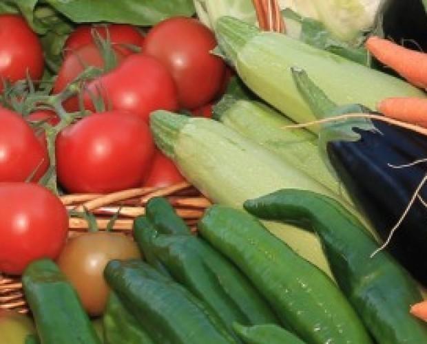 Verduras y hortalizas. Disponemos de tomates y pimientos