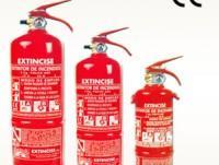 extintores de tamaños diferentes