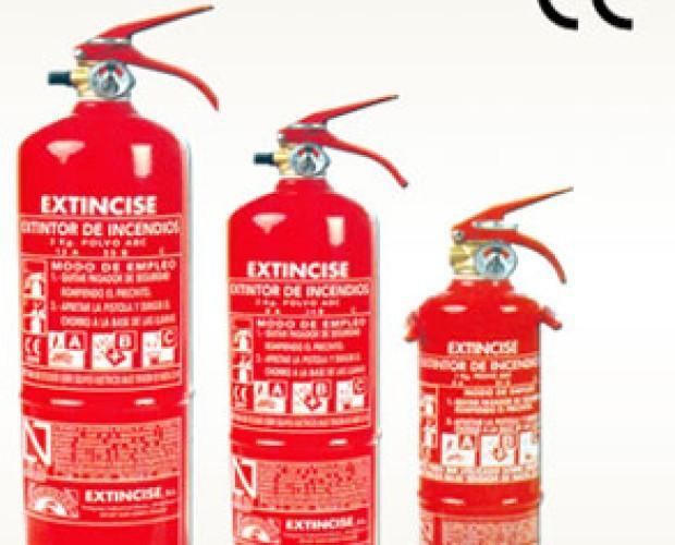Seguridad contra Incendios.Tenemos extintores de todo tipo