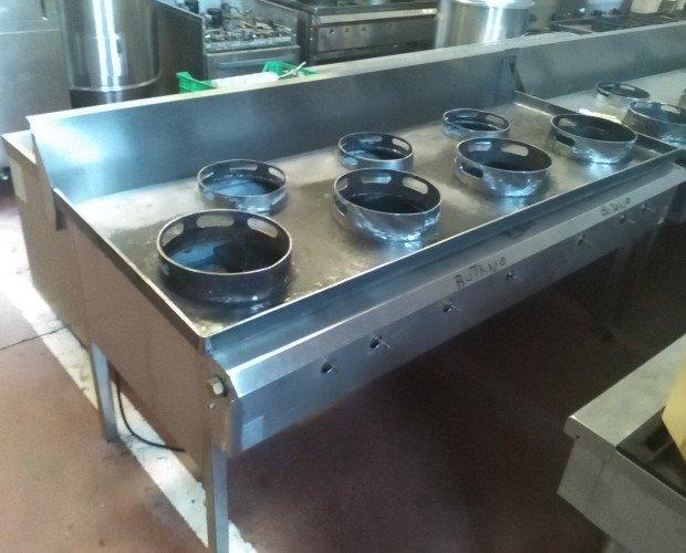 Cocina Industrial Acero Inox. Variedad de tamaños