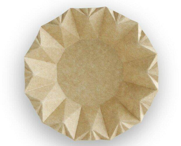 Bol de Cartón Kraft. 100% reciclables. Fabricados con fibra de papel virgen