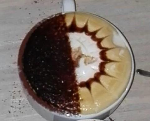 Café. Taza de café