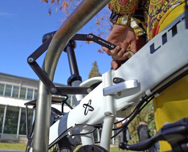 Bicicletas. Recambios y Piezas para Bicicletas Eléctricas. candado para bicicleta