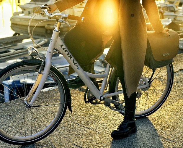 Berlin. bicicleta eléctrica