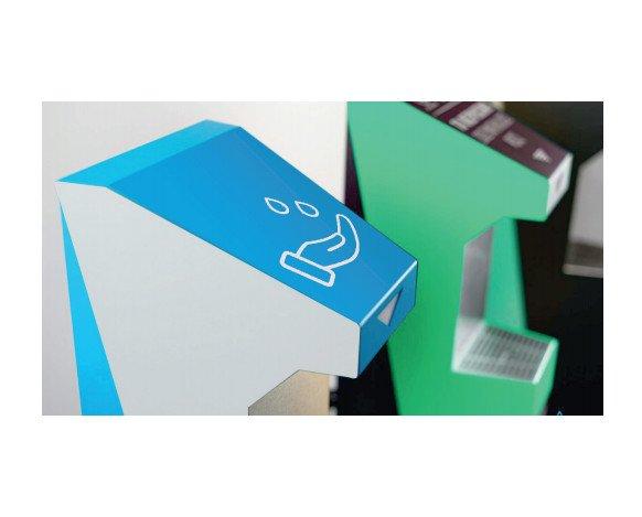 Dispensador Automático de Gel. Colores personalizables, posibilidad de poner tu logo