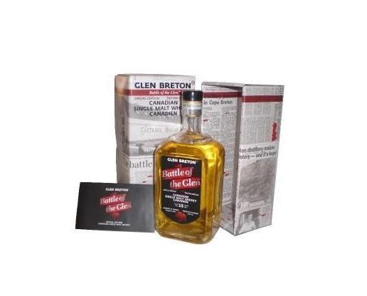 Glen Breton 15 . Whisky canadiense
