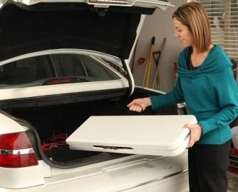 Fácil almacenaje. Nuestro mobiliario cuenta con la versatilidad y las ventajas de ser totalmente plegable. Muy práctico a la hora de montar y desmontar.
