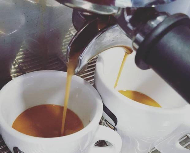 Café. Delicioso sabor y rico aroma