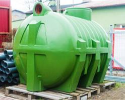 Tanque de gasoil. Depósito de gasoil para instalaciones petrolíferas