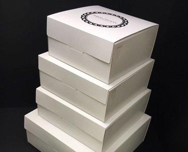 Cajas.Cajas tarta sin asa (anónimas y personalizadas)