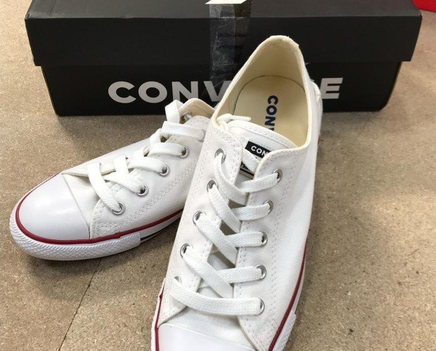 Zapatillas. Zapatillas Converse blancas