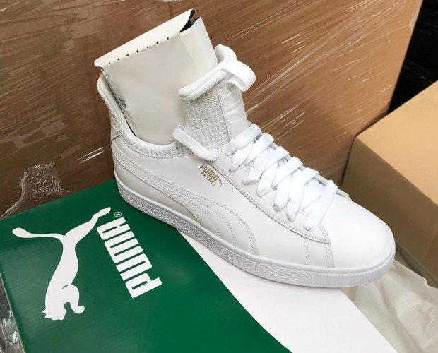 Zapatillas Puma. Zapatillas de mujer Puma blancas