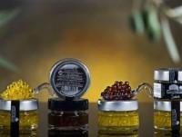 Esferas de aceite y vinagre