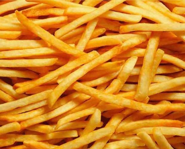 Patatas fritas. Patatas fritas congeladas