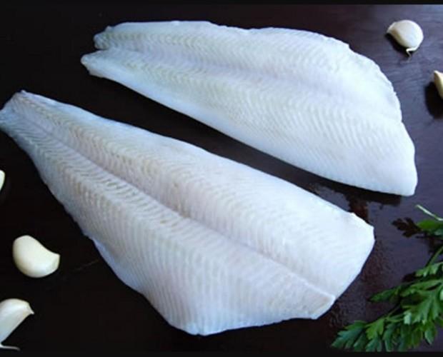 Pescado. Varios tipos de pescado congelado