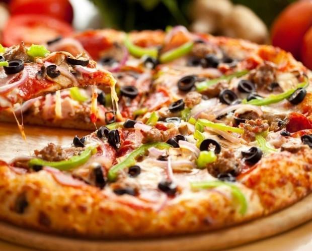 Pizzas congeladas. Pizzas de varios sabores