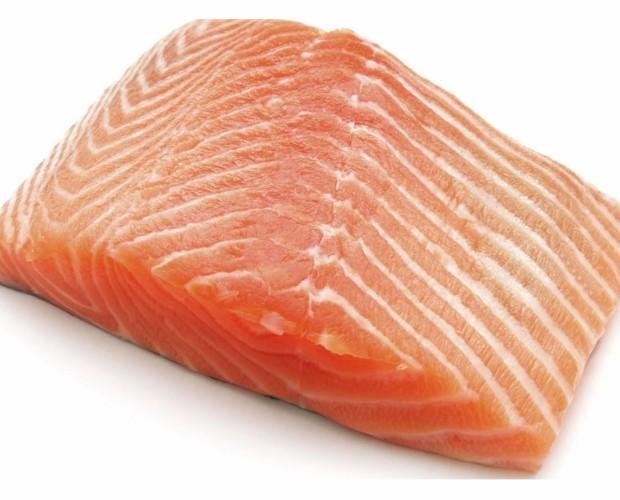 Salmón. Pescado congelado de la mejor calidad