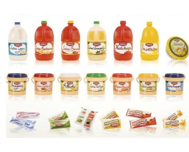 Salsas. Mayonesa, Mostaza, Alioli, Ketchup y más