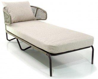 Sillón sofá lounge para exterior. Se fabrica con elementos de alta calidad