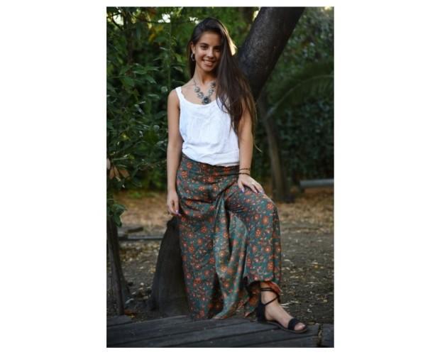 Pantalón estilo thailandés. Hermosos diseños