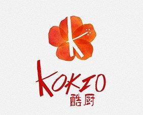 Logotipo Kokio. Branding para marcas del sector gastronómico