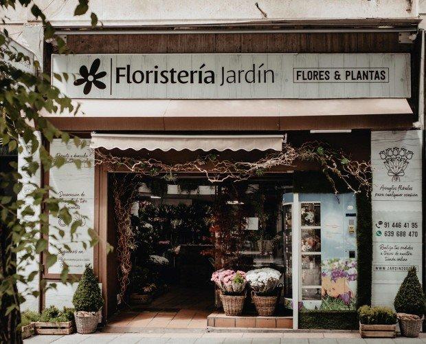 Floristería Jardín Madrid. Floristería Jardín se encuentra ubicada en el distrito de Chamberí en Madrid centro.