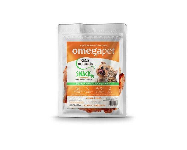 Snack de Oreja de Cordero. Fuente de colágeno natural. Delicioso alimento para tus animales