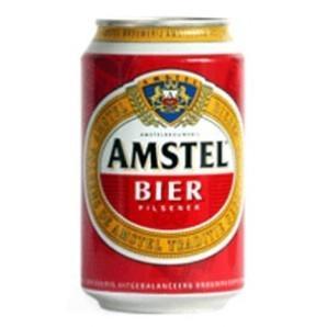 Cerveza Amstel. Variedad de cervezas de importación