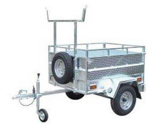 Caravanas y Remolques.Capacidad para 350 kg.