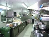 Cocina para restaurante
