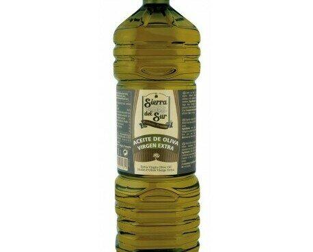 Aceite Sierra del Sur. Aceite de Oliva Virgen Extra PET 1 L