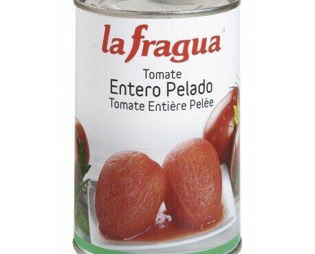 Tomate entero pelado. Tomate entero La Fragua. Formato: 500 gr